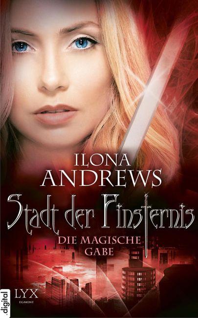"""Cover """"Stadt der Finsternis - Die magische Gabe"""""""